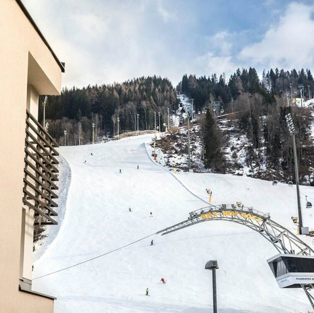 Schladming Hotel on the slopes