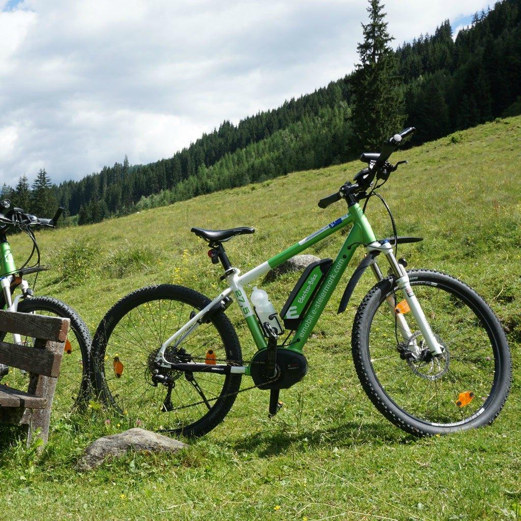 schladming e-bike wiese