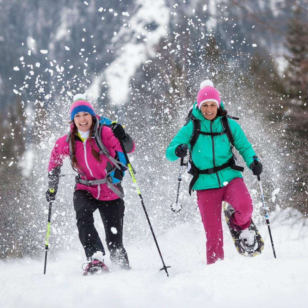 Snowshoe hiking Austria