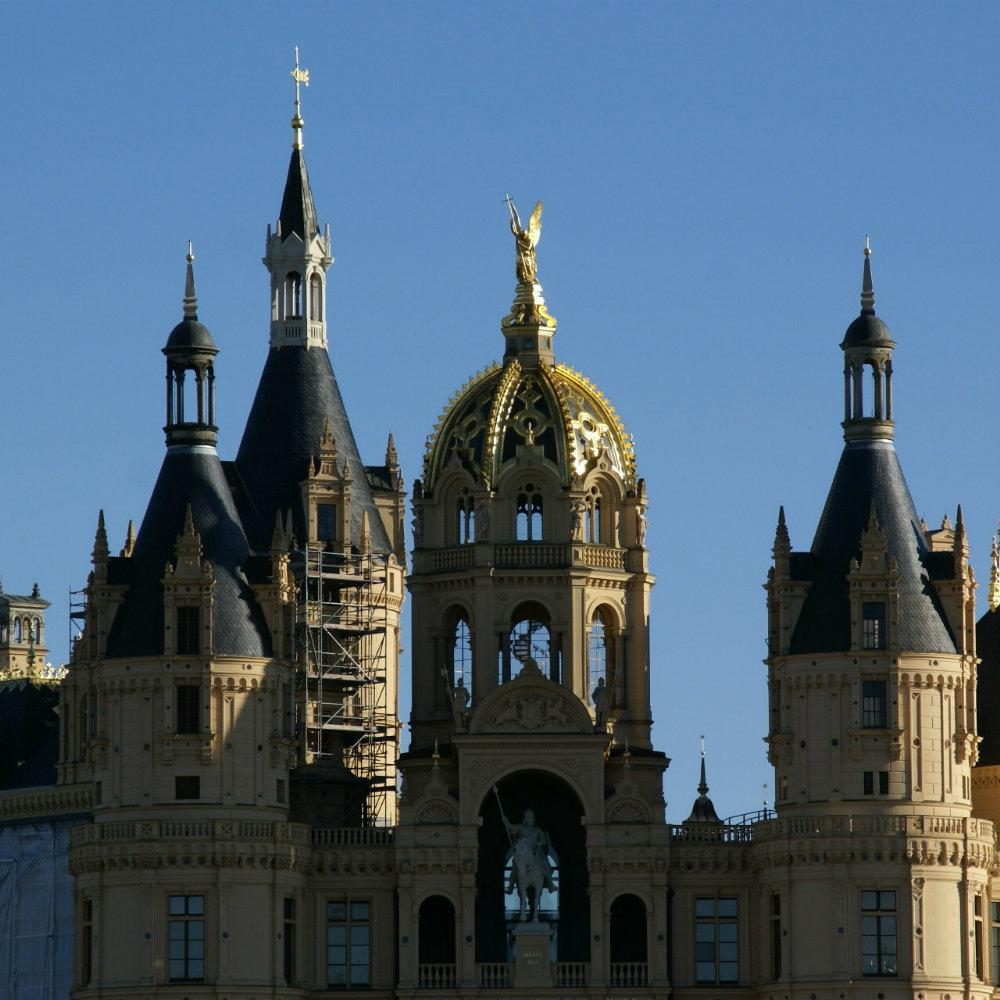 Castle in Schwerin