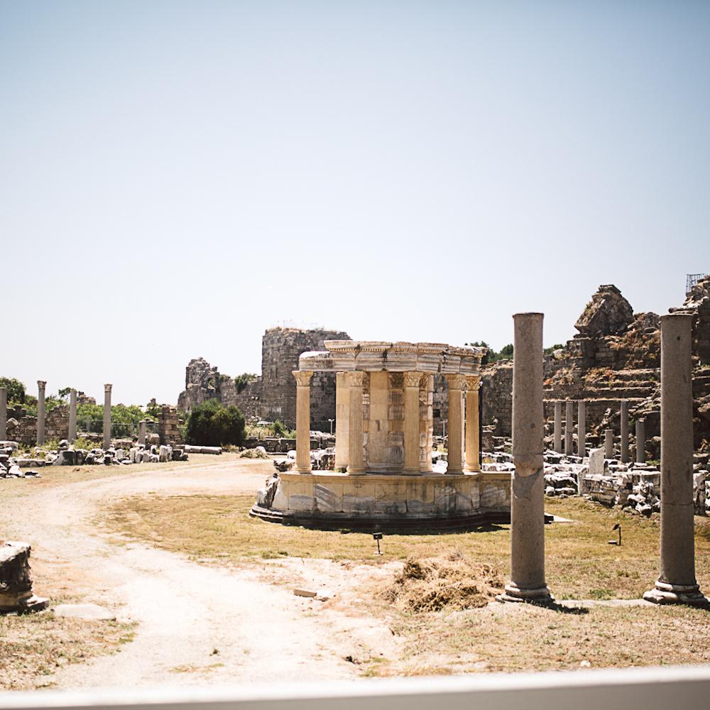 Side Antik Türkei