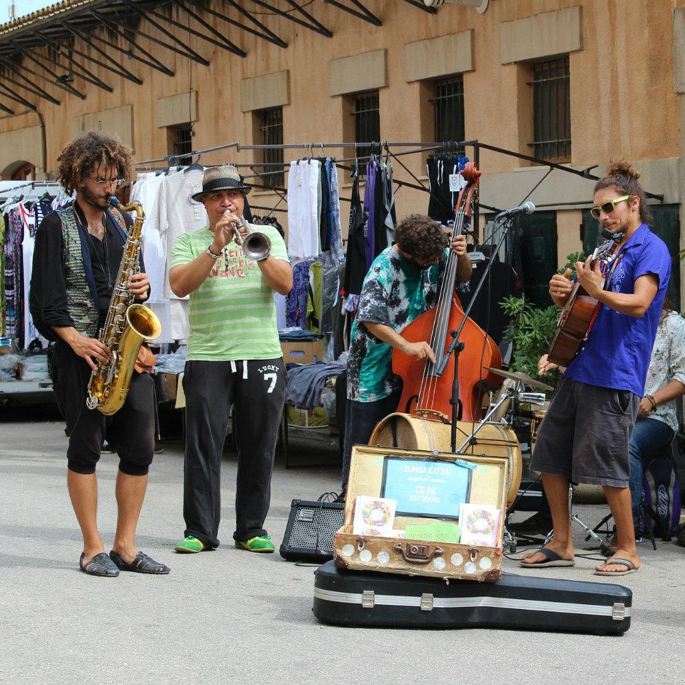 straßenmusiker sineu