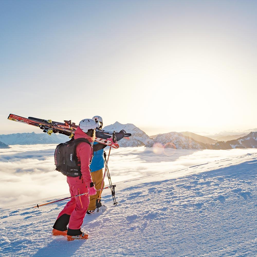 skifahren fieberbrunn