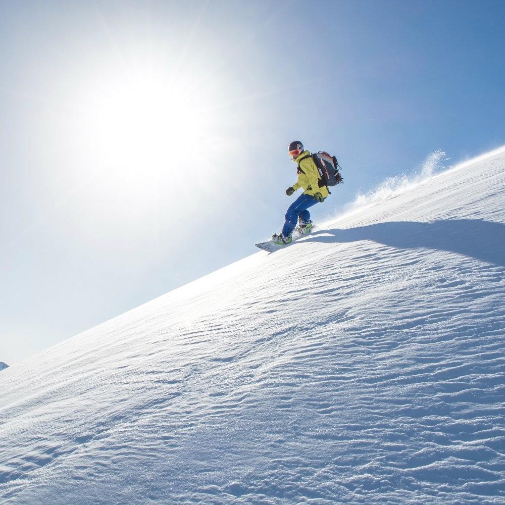 Snowboarding Fieberbrunn