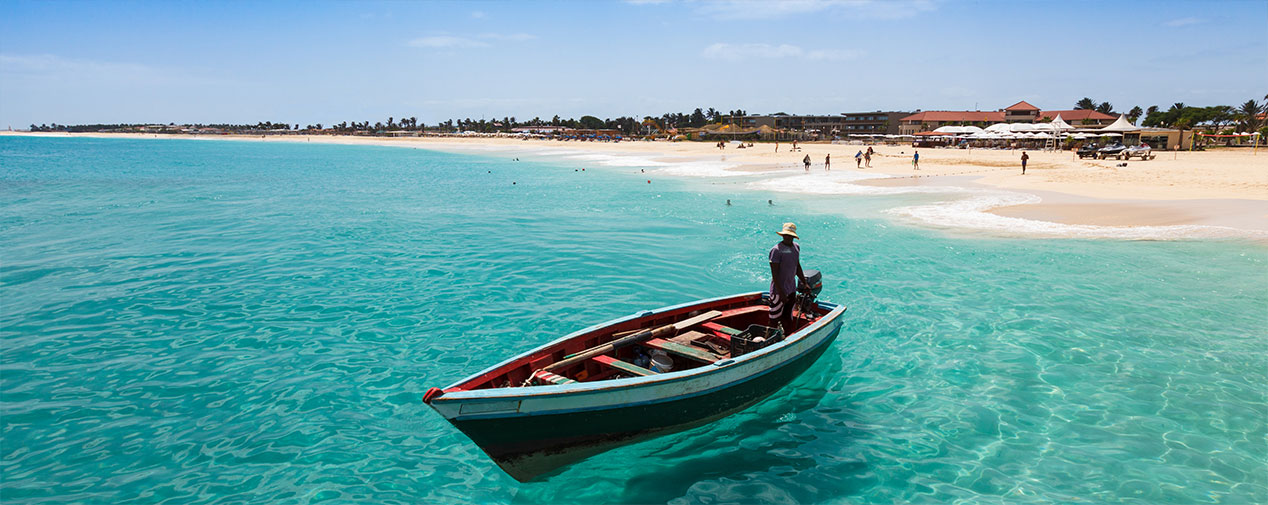 fishing boat island Sal cape verde islands cape verde tui blue