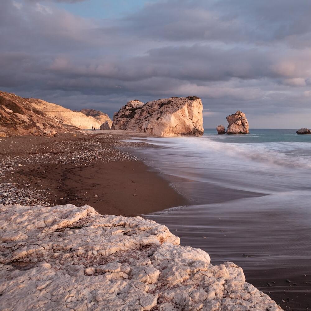 Sonnenuntergang Aphrodite Zypern
