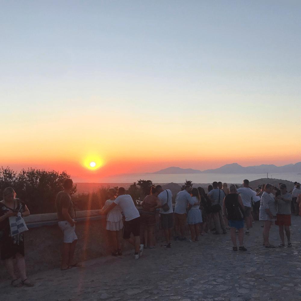 Sonnenuntergang Zia Kos