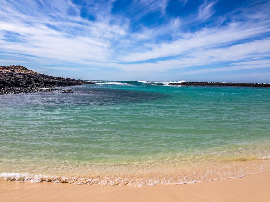 Fuerteventura: Der feine Sandstrand von El Cotillo