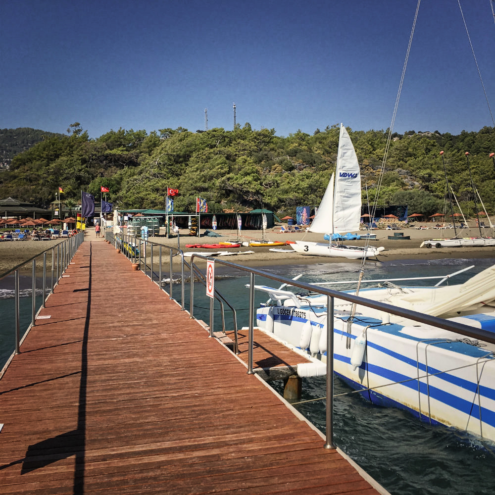 jetty boat tour in turkey sarigerme park
