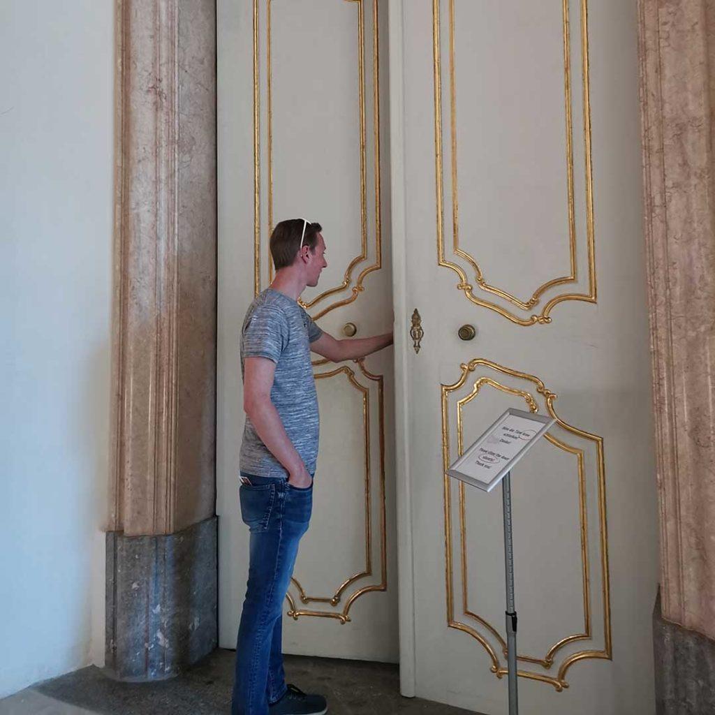 stift admont klosterbibliothek eingang