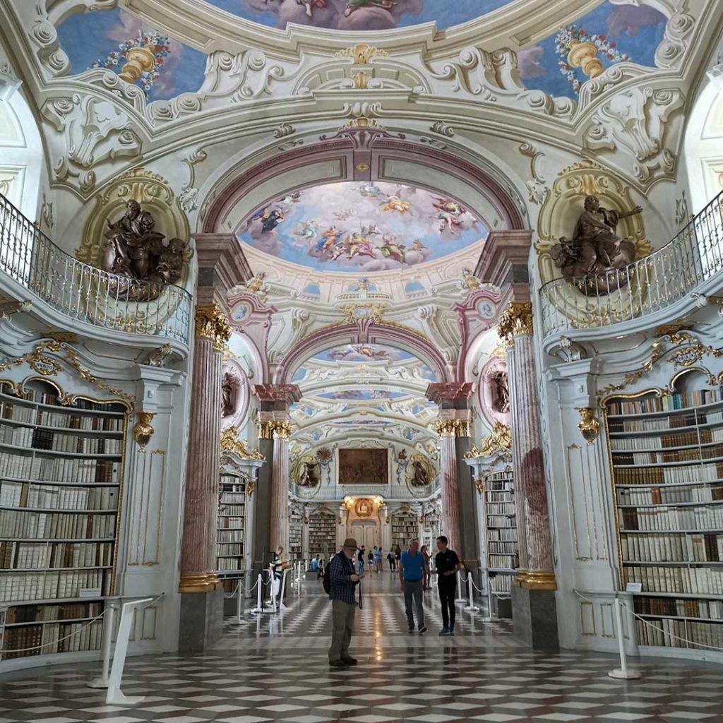 stift admont klosterbibliothek innen