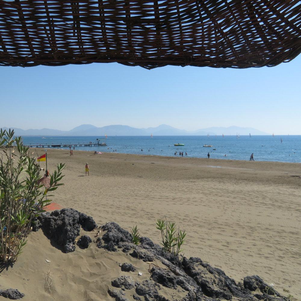 strand sarigerme park meer urlaub 2019