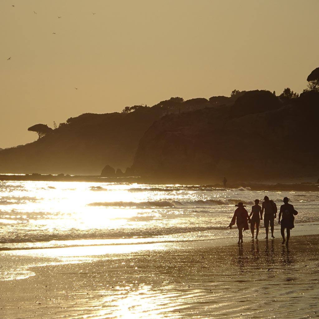 strandspaziergang praia da falesia