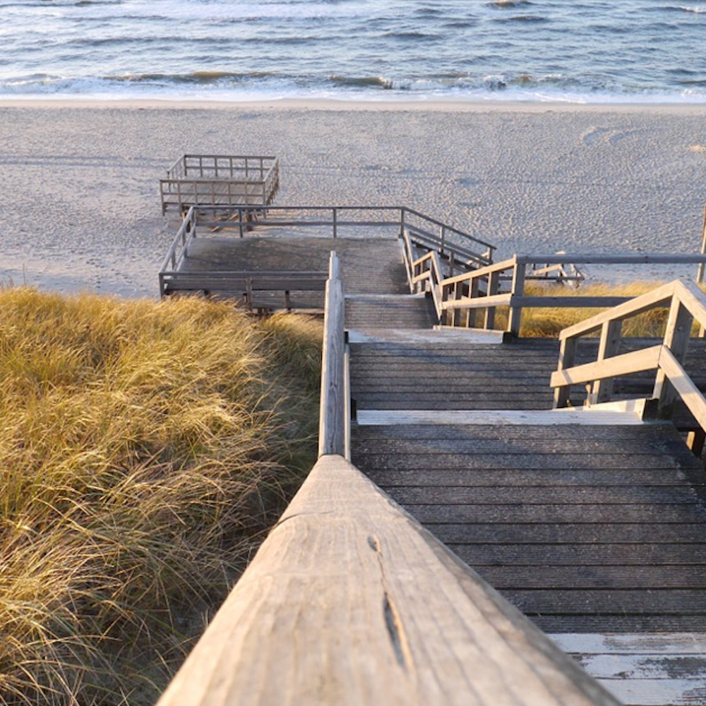 Sylt Treppe zum Strand TUI BLUE