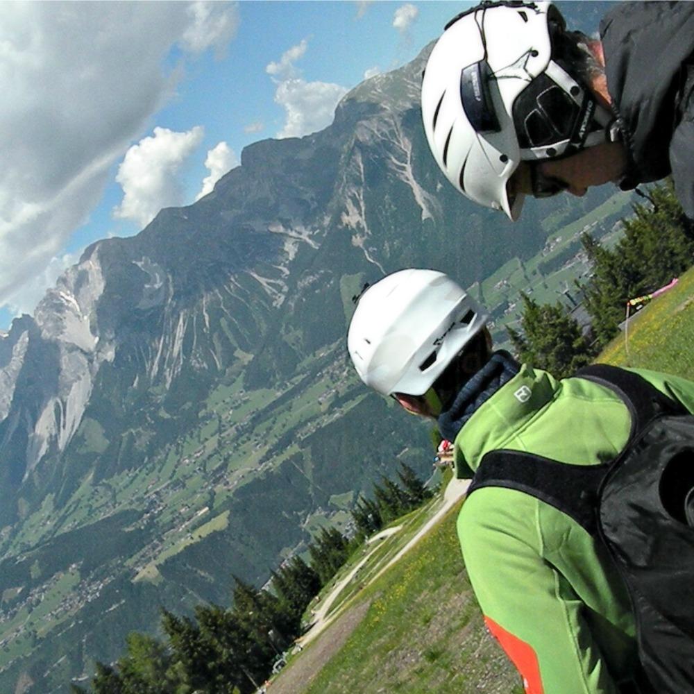 tandemfliegen vorbereitung ausblick alpen