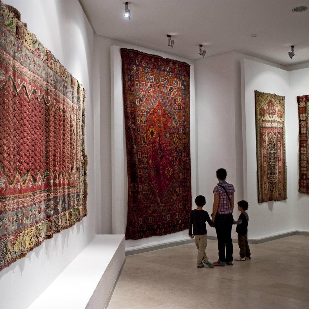 Lalla-Hadria-Museum Teppiche