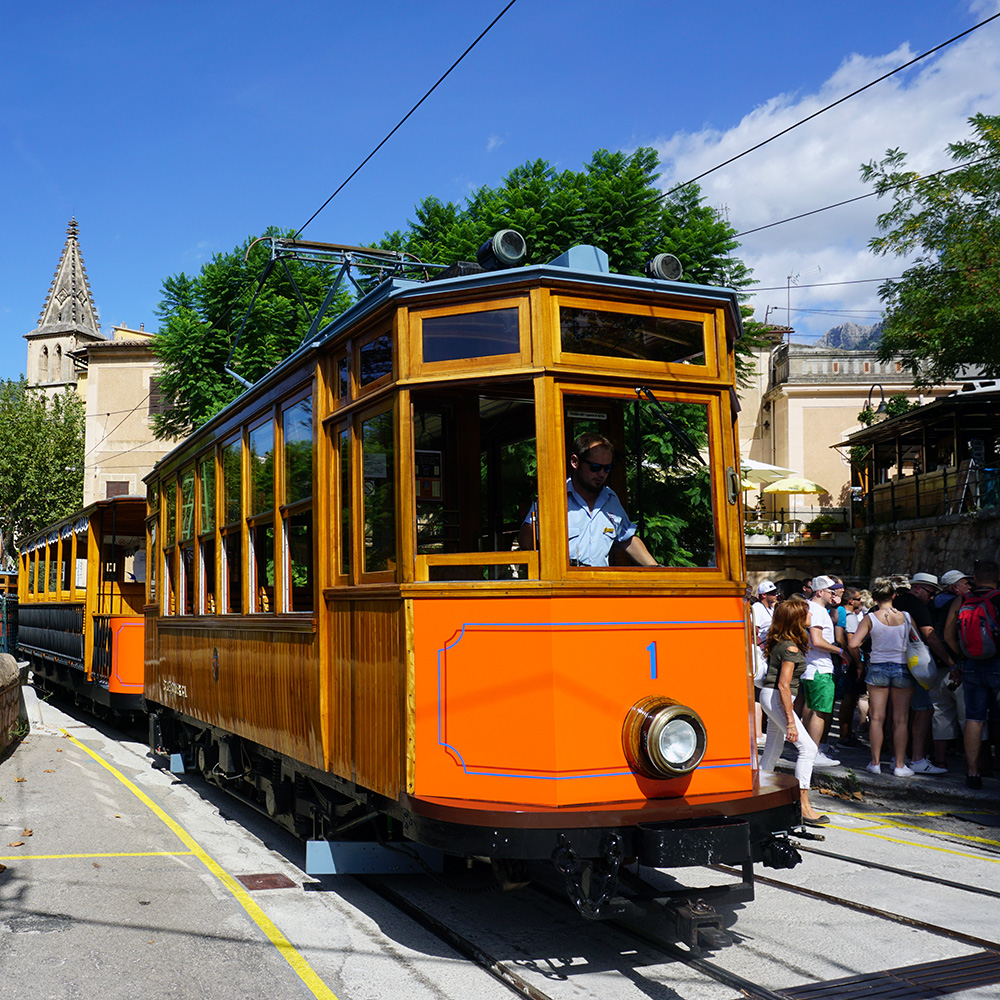 tram inselrundfahrt mallorca