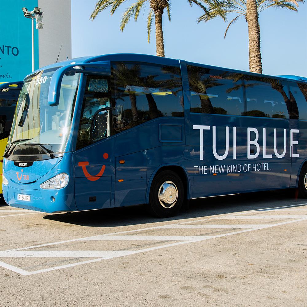 tui blue bus inselrundfahrt mallorca