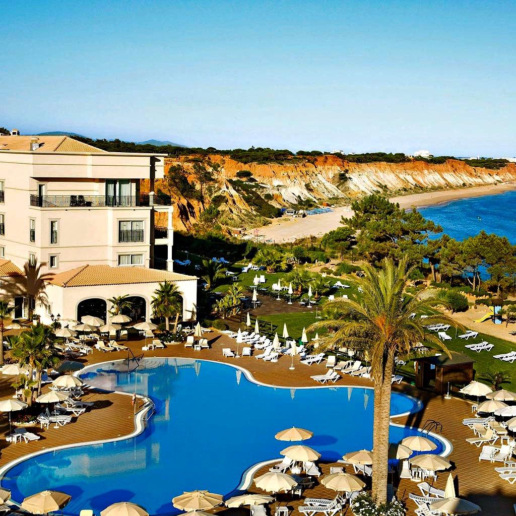 tui blue falesia pool strand