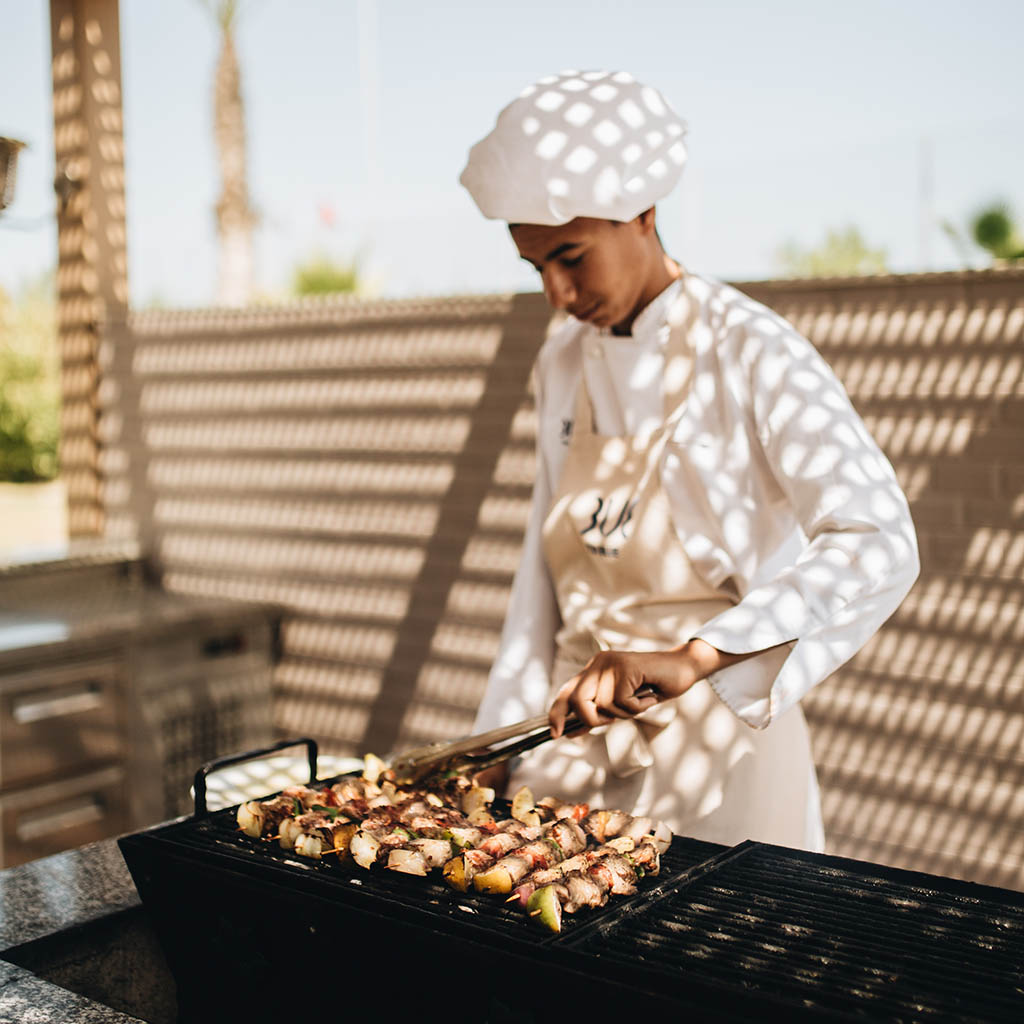 tui blue palm beach palace bbq