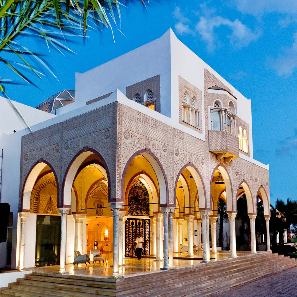 tui blue palm beach palace strandurlaub djerba