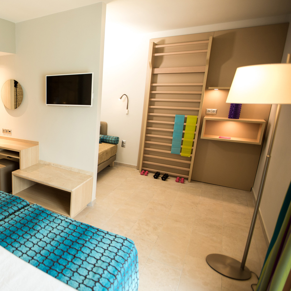 BLUEf!t rooms at TUI BLUE Palm Garden
