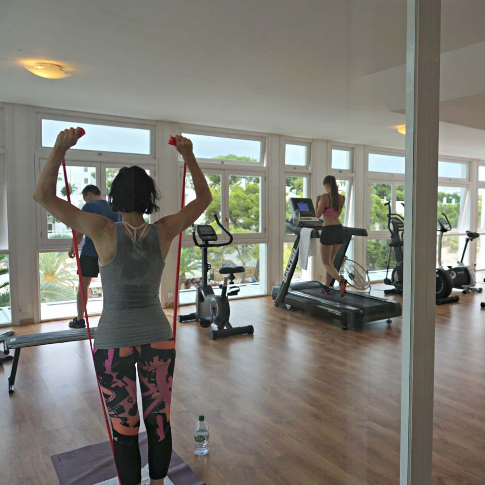 tui blue rocador fitnessstudio