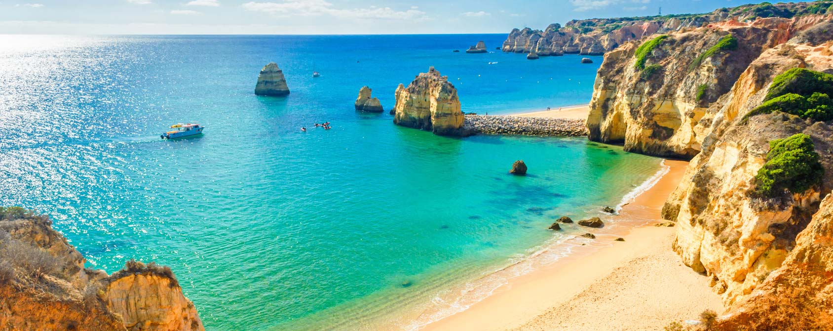 tui blue beach holiday algarve header