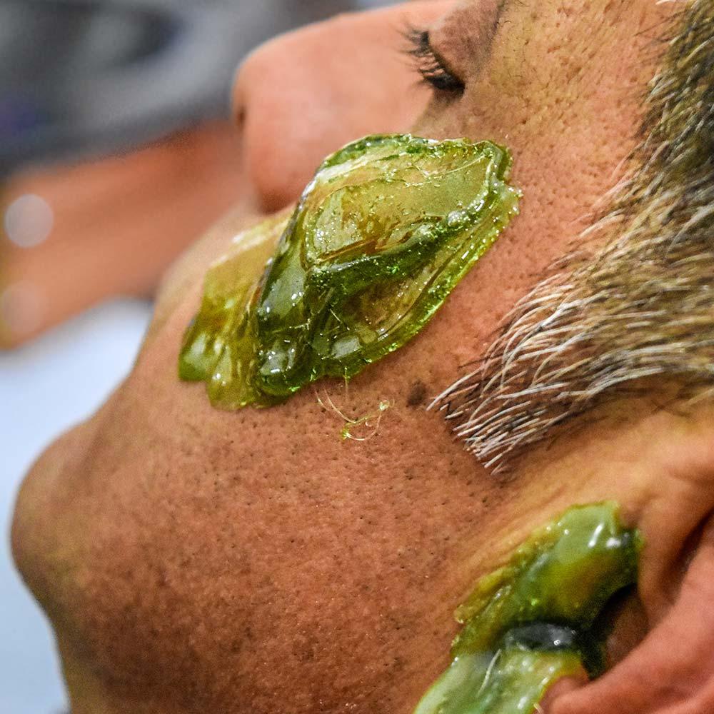 türkisches Friseurwachsen