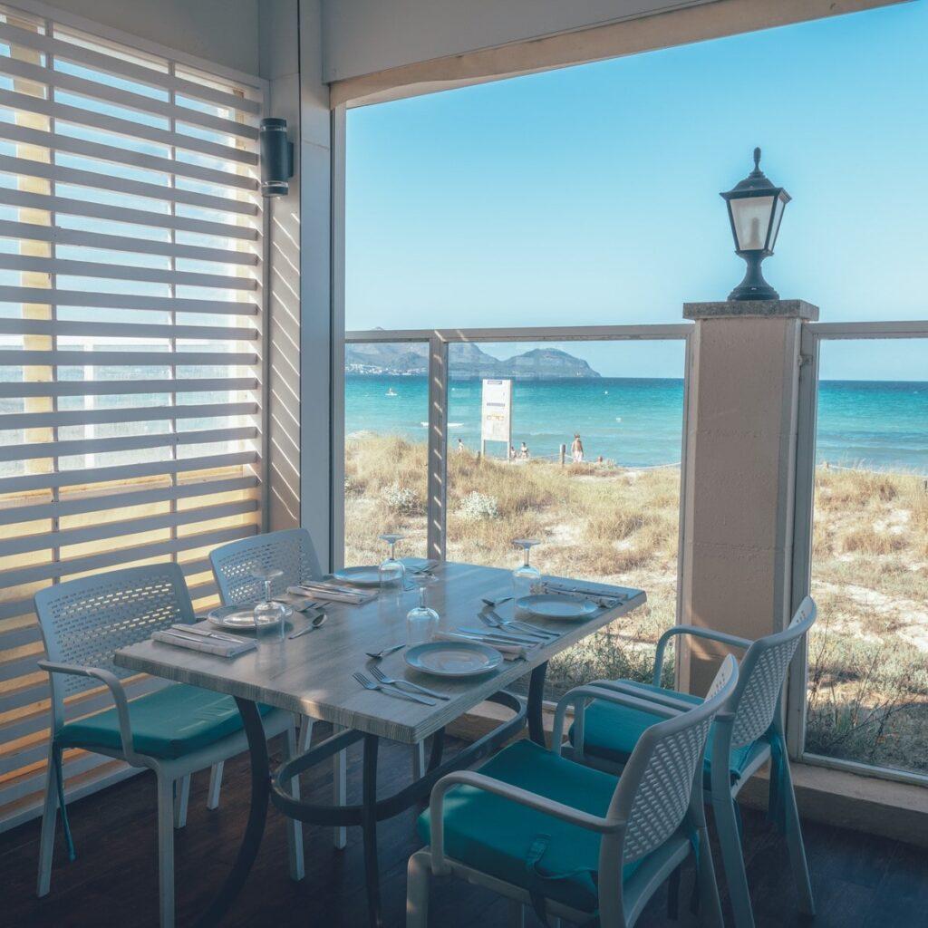restaurant tui blue alcudia pins