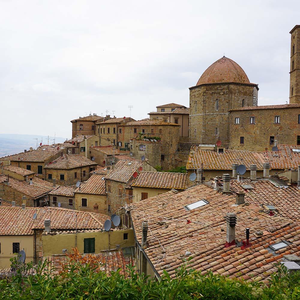 Aussicht auf Volterra