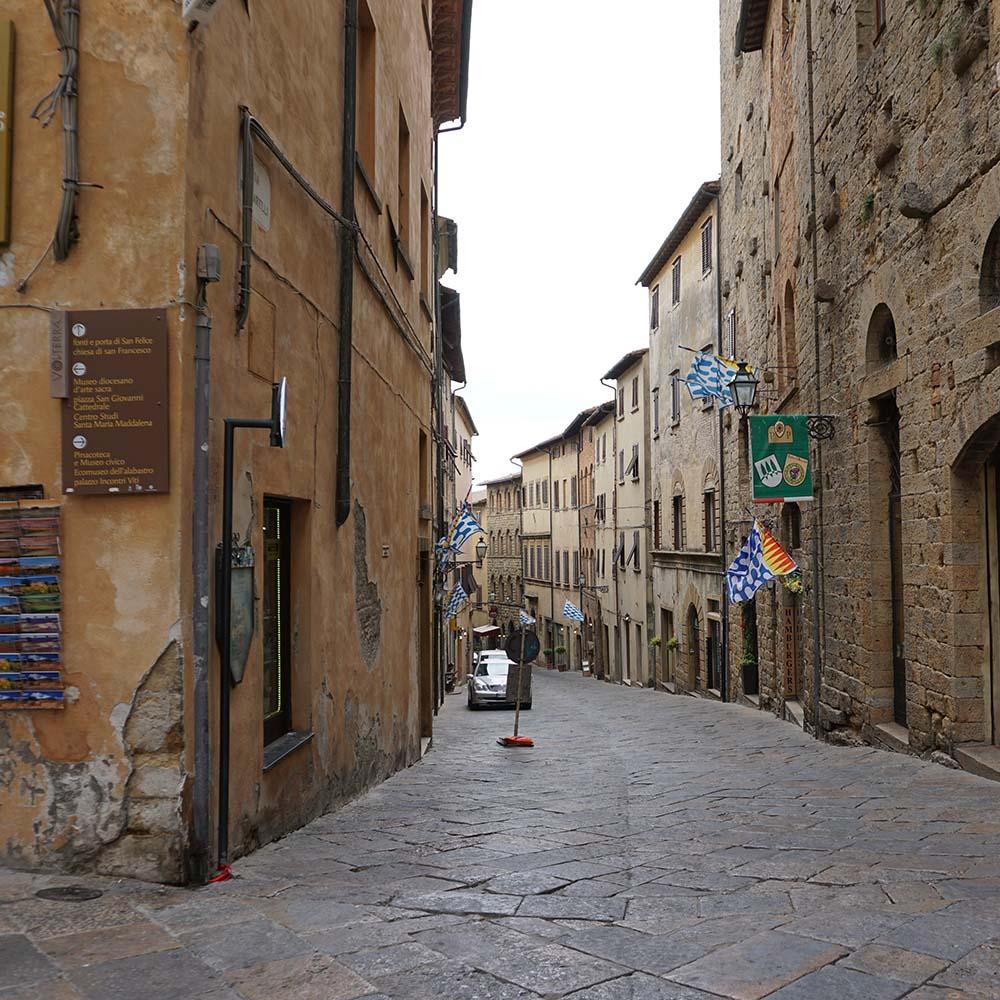 Die Gassen von Volterra