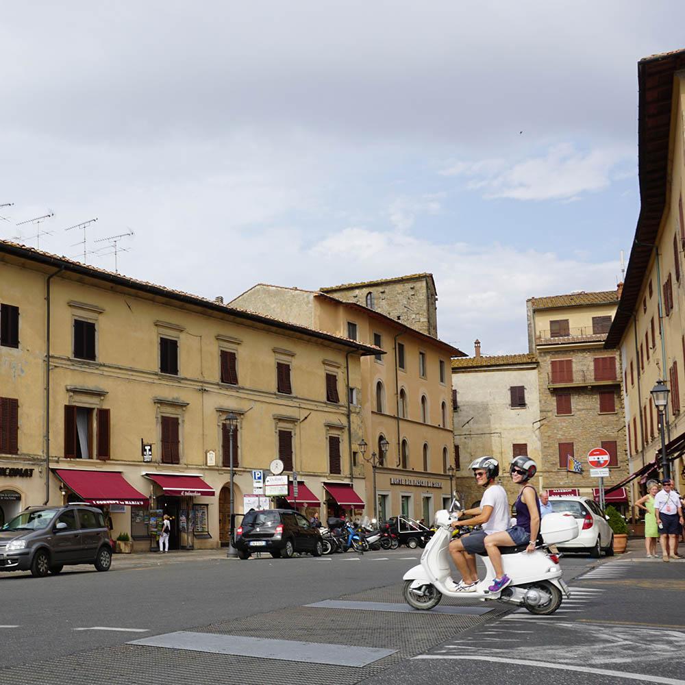 Vespa in Volterra