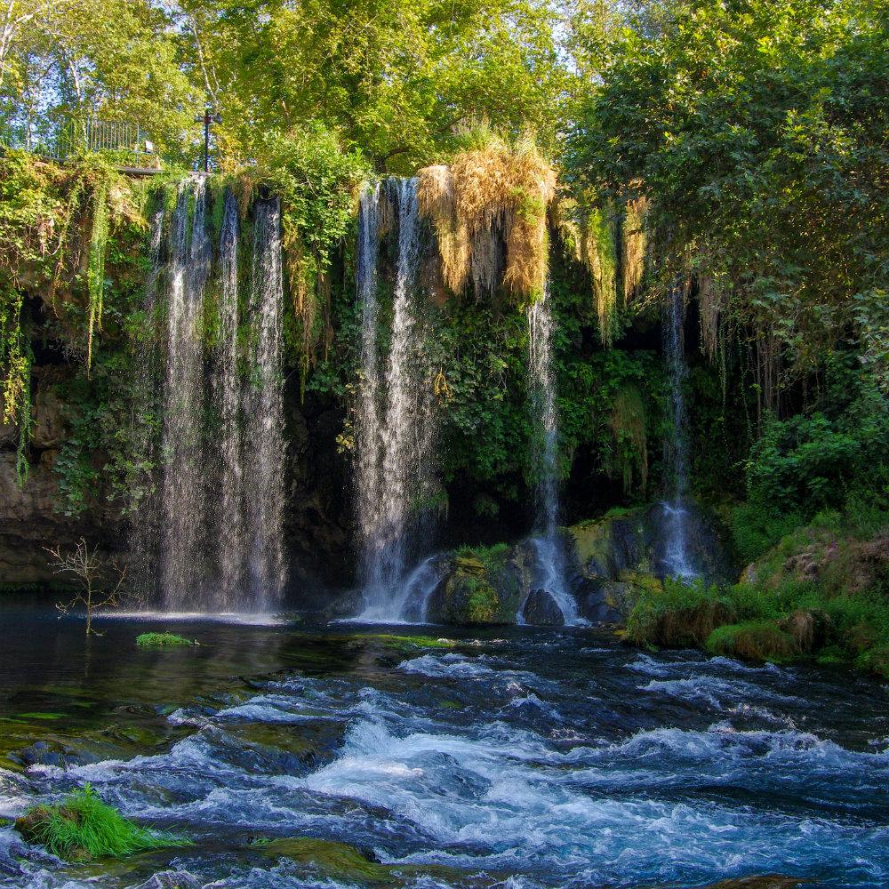 wasserfälle nationalpark türkischen riviera