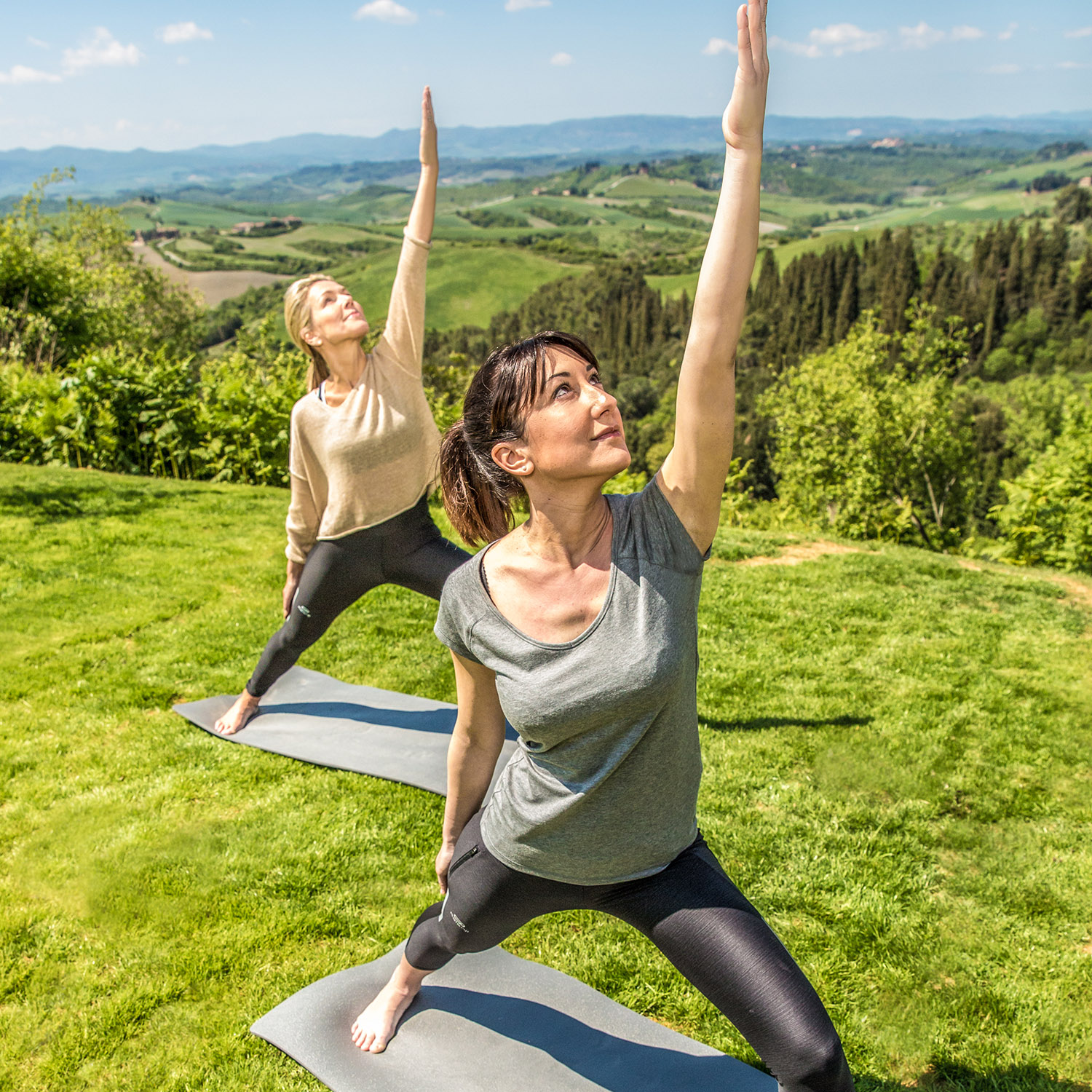 Yoga in Castelfalfi