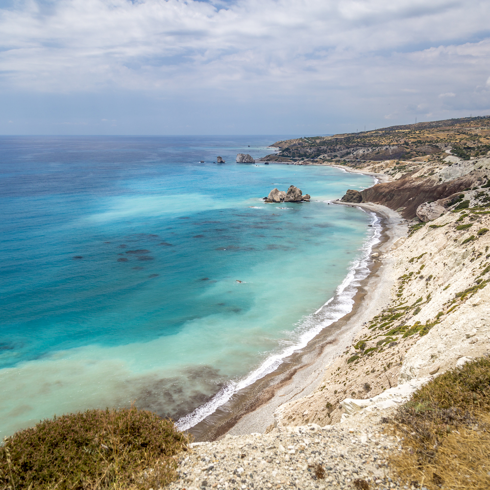 Strand Zypern Küste
